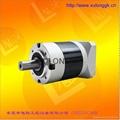 行星减速机 齿轮减速箱 配伺服电机用 PL60 3-1000比 1