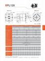 伺服行星减速机 齿轮减速箱 配伺服电机用 PL120 3-1000比 2