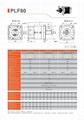 精密行星减速机 配伺服电机 步进电机 直流电机用 PLF80 3-1000比