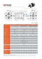 精密行星减速机 配伺服电机 步进电机 直流电机用 PX60 3-1000比