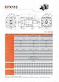 精密行星减速机 配伺服电机 步进电机 直流电机用 PX115 3-1000比