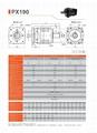 精密行星减速机 配伺服电机 步进电机 直流电机用 PX190 3-1000比