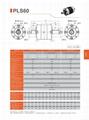 精密行星减速机 伺服行星减速机 PLS60 3-1000比