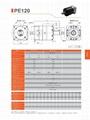 AC Servo reducer PE120 Ratio 3-100  Used for ac servo motor