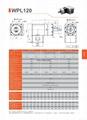 精密行星减速机 伺服行星减速机WPL120 3-1000比