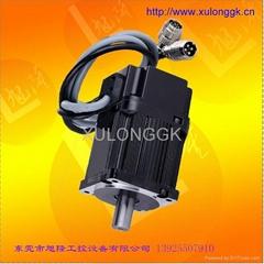 AC 220V servo motor 80flange  400w-1.3N  750w-2.4N 1.0Kw-3.3N