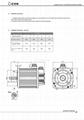 AC220V交流伺服电机110法兰0.6kw-2N 1.2W-4N 1.5KW-5N
