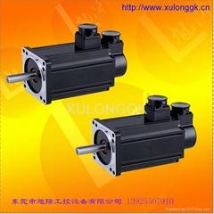 AC220V交流伺服電機130法蘭1.6kw-7.7N 2.0KW-7.7N 2.4kw-7.7N