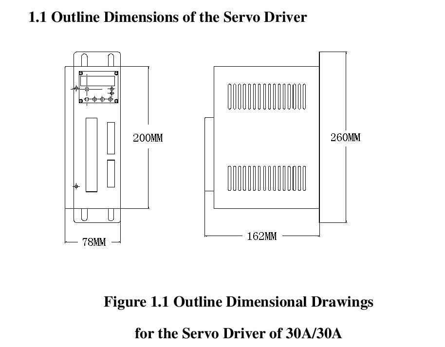 SBF AC servo driver  SBF-AL301 220V 6