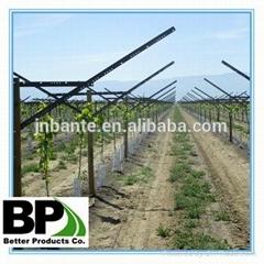 perfortaed high quality steel vineyard U type post