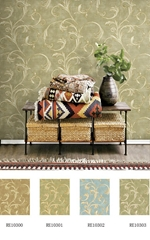Uhome latest design pure paper wallpaper