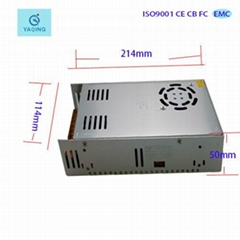 360W LED transformer 24V 15A power supply use to DC 24V power supply