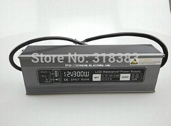12V 300W Switching Led Driver Power Supply Transformer Rainproof IP67