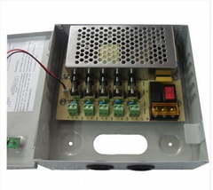 5 Channel CCTV Camera Power Supply Box DC 12V 5A Switching Power Supply