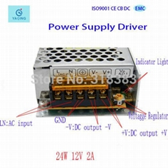 4W Power supplies 12V with CE/FC/ROhs Approved