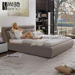 Offer Sanci modern Fabric bed