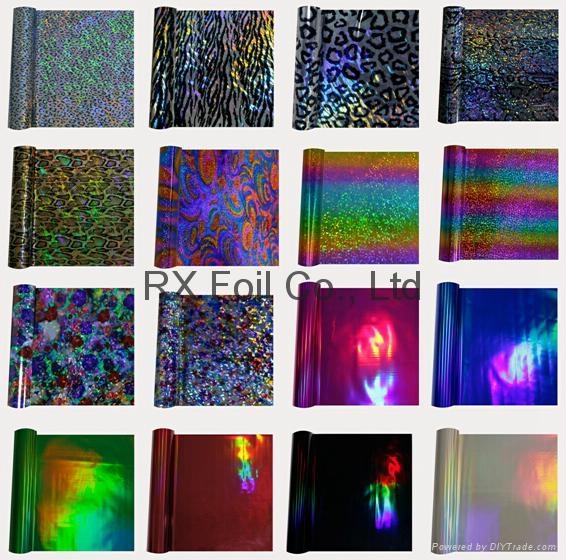 New design metallic hot stamping foil for garment 3