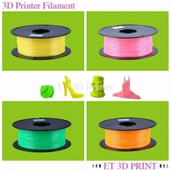 3D Printer Filament ABS 3.00mm Plastic Rubber Consumables Material Printing Supp