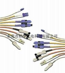 厂家直销铠装光缆感温光缆野战光缆铠装跳线