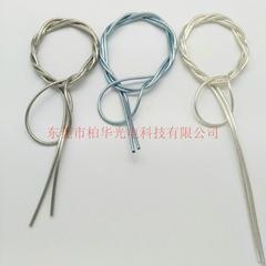 廠家直銷USB線金屬管電鍍軟管扁線彈簧數據線保護管