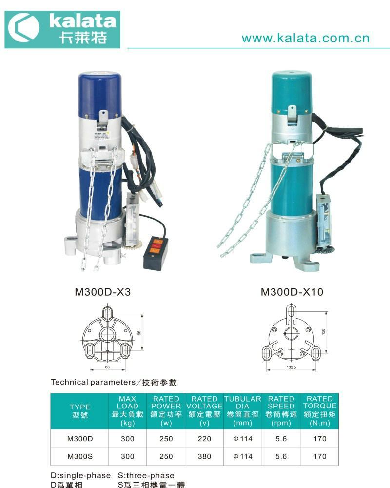 M300 Series Roller Shutter Motor 1
