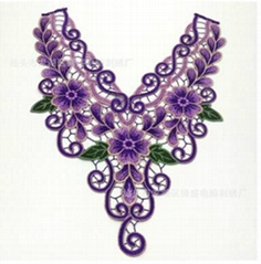 Clothing accessories decoration collar flower embroidery lace