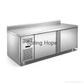 Stainless steel chest kitchen freezer commercial kitchen working cabinet