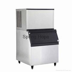Large capacity 455kg ice maker ice making machine sqauare ice machine