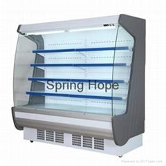 Air cooling supermarket fruit refrigerator beverage cooler
