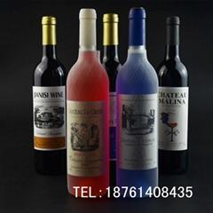 玻璃瓶 750ML500ML375ML红酒瓶 空瓶子葡萄酒瓶 送 木塞胶套 盖子
