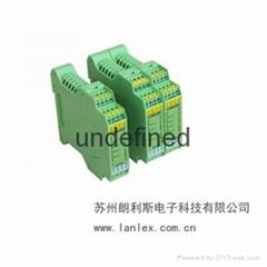 朗利斯热电阻温度信号变送器优惠直销