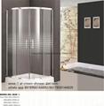 Crown corner bathroom portable shower enclosures easy to clean ...