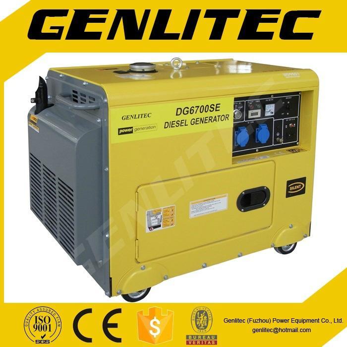 5kva Air-cooled Silent diesel generator  1