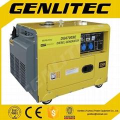 5kva Air-cooled Silent diesel generator