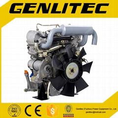 V-Twin Cylinder Water Cooled 19HP Diesel Engine Changchai EV80