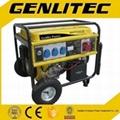 Three Phase 6kw Gasoline Generator with