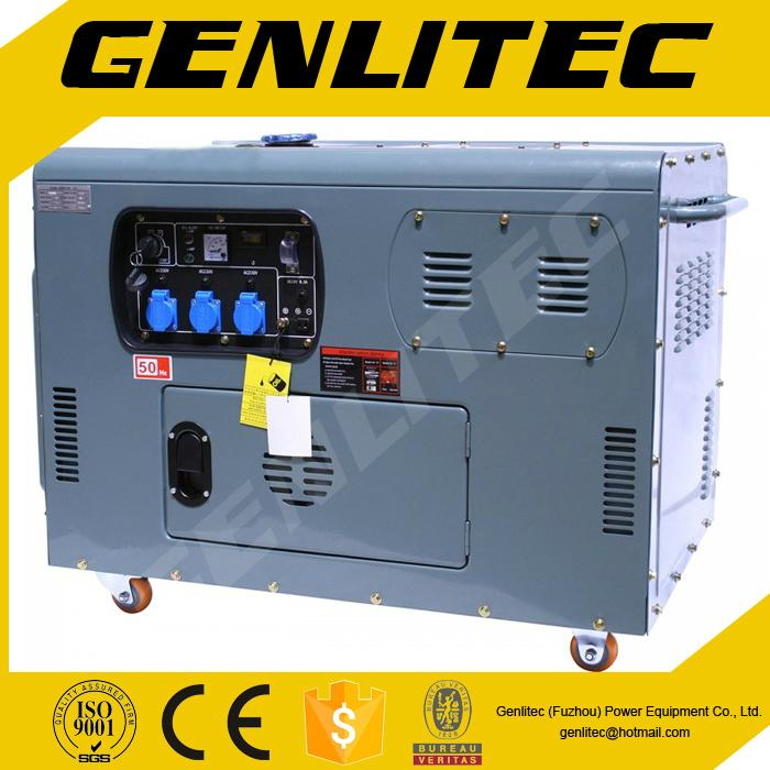 Air cooled V-Twin cylinder 10kva/8kw diesel generator 1