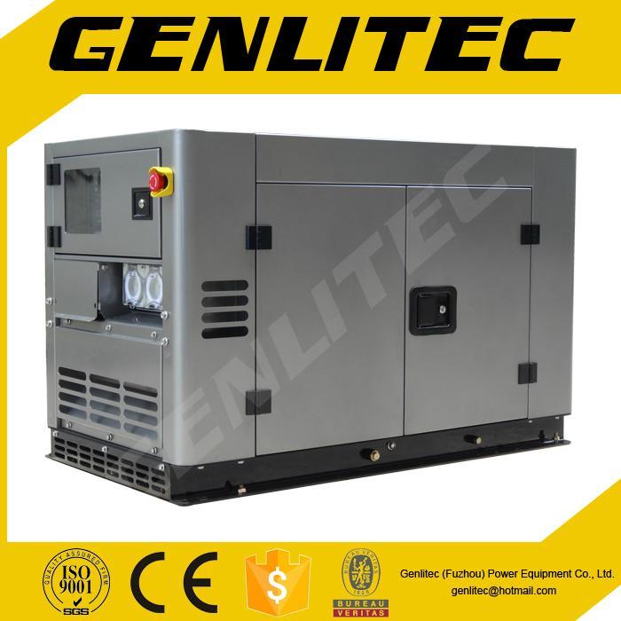 Water-Cooled  V-Twin Cylinder 10kVA Kipor Type Diesel Electric Generator 1