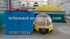 Good quality HHD brand educational toys for kids automatic chicken egg incubator