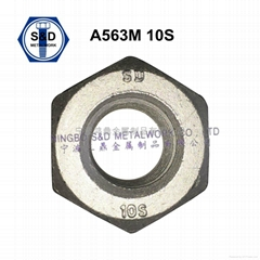 Heavy Hex Structural Nut ASTM A563M