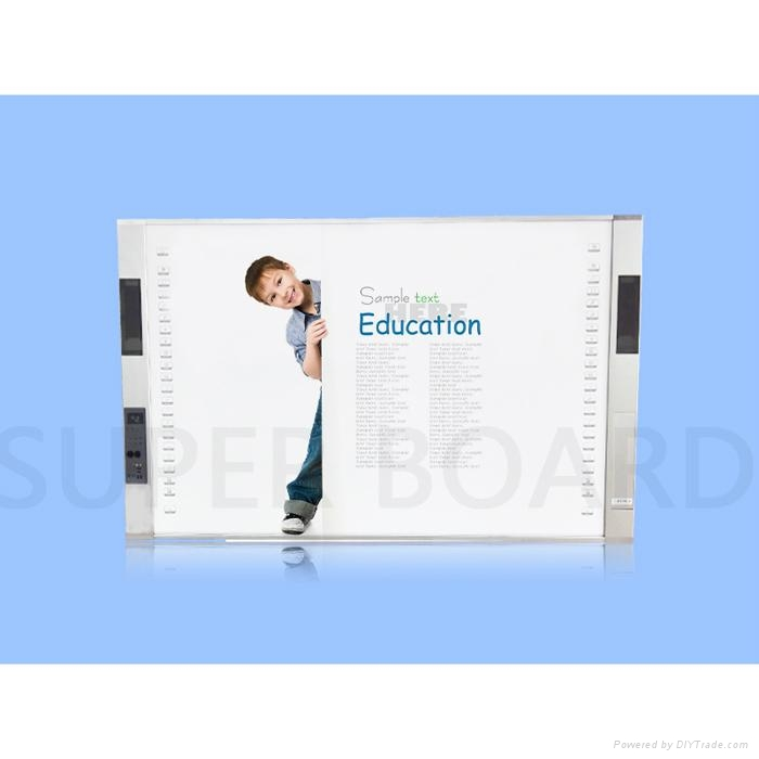 SuperBoard All-in-One Interactive Whiteboard with visual presenter and Projector 1