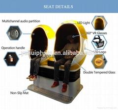 2016 Attractive 5d motion chair 7d cinema amusement machine