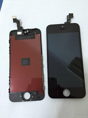 Best price LCD display digitizer assembly for iphone 5 lcd parts with touch ic