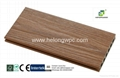 2016 Helong Hot-sale weather-reisistant co-extrusion composite decking/WPC deck 4