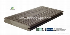Co-extrusion WPC decking made by