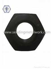DIN934 Hex Nuts Class8 Black Finish