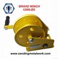 Hand Winch Trailer Winch Boat Winch Brake Winch 1200lbs 3