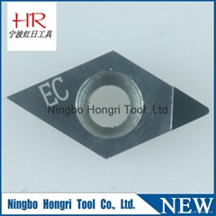 Artificial jewellery diamond PCD cutting inserts