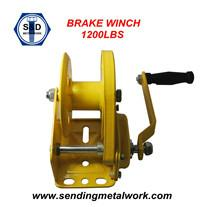 Hand Winch Trailer Winch Boat Winch Brake Winch 1200lbs 1