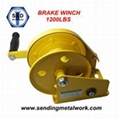 Hand Winch Trailer Winch Boat Winch Brake Winch 1200lbs 2